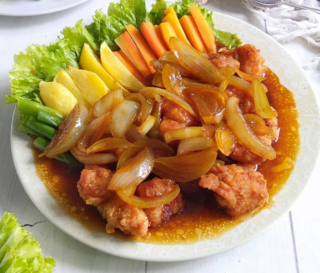 Resep Bistik Ayam Ala Rumahan